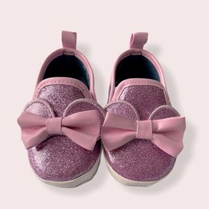 Disney Sparkly Pink Minnie Mouse Shoes